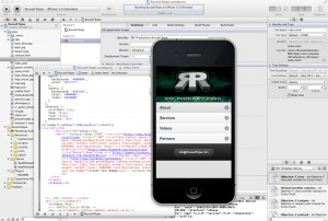 XCode 421 RRP iPhone App
