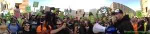 SmokeOut Protest @ Downtown LA