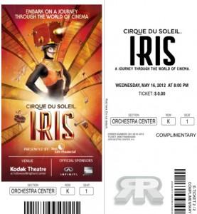 Press Tickets