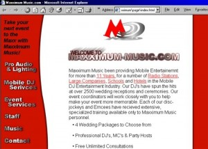 Maximum Music Website