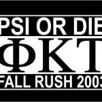 Rush T-Shirt & Banner 2003