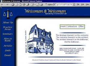 Weissman & Weissman Website