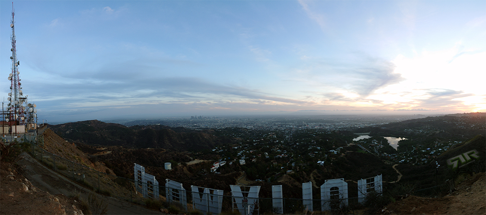 #HollywoodSign @RussellRope
