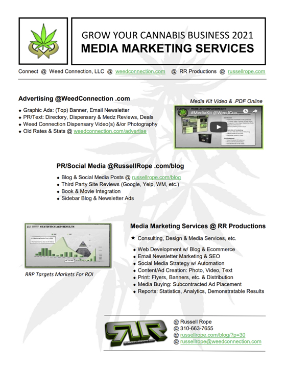 #Advertise @WeedConnection